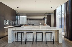 kitchen, Toorak home, FGR Architects