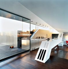 miss-design.com-architecture-best-penthouse-6.jpg (600×607) #interior #kitchen #design #contemporary