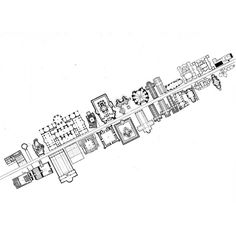 HANS DIETER SCHAAL BOULEVARD OF THE HISTORY OF ARCHITECTURE, 1970s #urban #concept