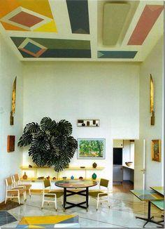 tumblr_n0ukjyr5ov1qzybo6o1_1280.jpg (578×800) #colour #room #geometric #modern