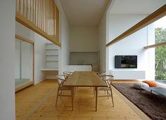House of Fujinomiya by CASE DESIGN STUDIO #modern #design #minimalism #minimal #leibal #minimalist