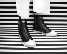 adi originals adidas Originals Fall/Winter 2012 Brogue Pack #adidas #monochrome #ad #fashion #editorial