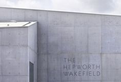 The Hepworth Wakefield identity by APFEL - Creative Journal #apfel #hepworth #wakefield #the
