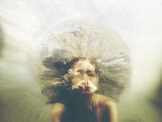 Extraordinary Conceptual Portraits by Christine Muraton My Modern Metropolis #photo #face #underwater