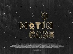 Motion case 2013 #movie #animation #effects #dribbble #motion #print #reel #case #shape #cinema #poster #show #mrfrukta