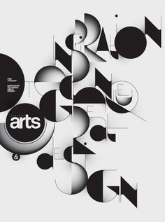 Typography by Áron Jancsó #computer #arts #black #typography