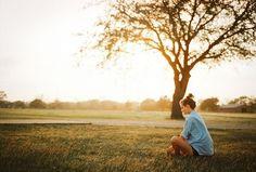 by Dennis Auburn #girl #photog #park #quiet #photography #sunset