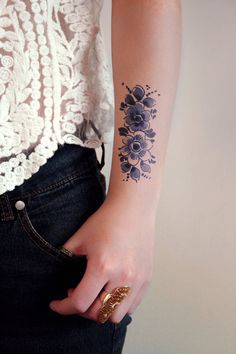 Flower Tattoo #ink #tattoo