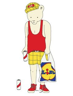 Rupert #illustration #lidl