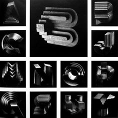 The New Graphic — #sculpture #typography