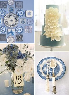 Pinned Image #blue #chinese #white #porcelain