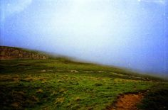 006   Triangular Love. #green #clouds #fog #moutains