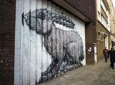 London1209 090 Bunny by Roa | Flickr - Photo Sharing! #drawing