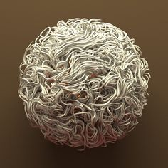 Mark Stock - Dynamo #dynamic #swirl #string #global #fluid #sphere #illumination