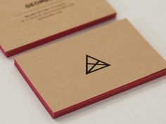 Graphic design inspiration #graphic design #business cards