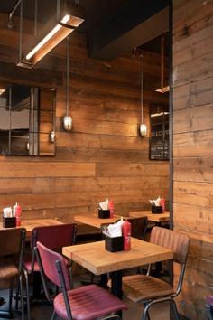 Black Bear Burger Restaurant by B3 Designers