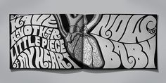 ab5358ddba206ed042e423157d85b396 #illustration #typography #funky