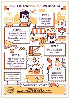 Taste Porto flyer on Behance