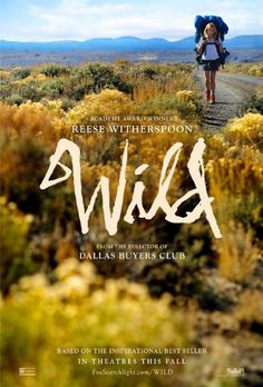 Wild (2014) #movie #hike #grass #messy #drawn #poster #film #hand #walk