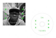 In Golden Tears on the Behance Network #in #design #cover #tears #golden #cd #typography