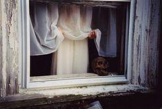 All sizes | Untitled | Flickr - Photo Sharing! #creepy #photography #film #window #skull