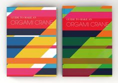 Stephany Gill | A Guide to an Oragami Crane #gill #design #stephany #bookcover #orgami