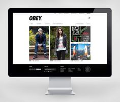 Obey Clothing - Work - Instrument #obey #clothing #web