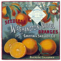 via Vintage Me Oh My #packaging #fruit #label #vintage #type