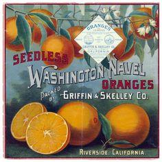 via Vintage Me Oh My #packaging #fruit #label #vintage #type