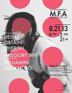 Music Fashion Art Poster