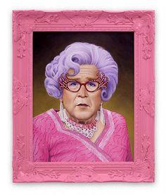Scott Scheidly Bush #illustration #bush #pink