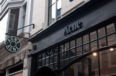 Acne #fashion #signage #exterior