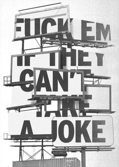 Typeverything.com - byChristopher Wool. #billboard