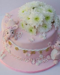 Bunny Theme Cake