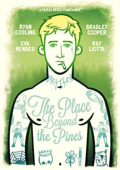"""The Place Beyond the Pines\"" alternative poster by hugraphic"