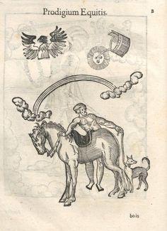 000154 #naturalism #aldrovandi #illustration #latin #ulisse #monster #drawing