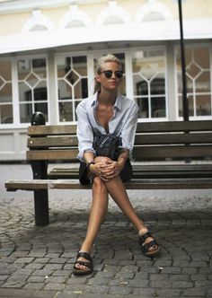 Birkenstock moment #fashion #women