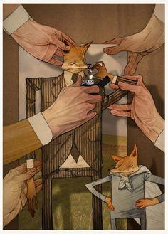 BLDG//WLF #illustration #fox #movies