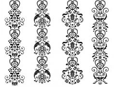 Graphic-ExchanGE - a selection of graphic projects #pattern #white #black #and