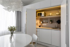 White Urban Minimalism by Greenbor - InteriorZine