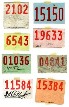 numbers, font, type, paper, old