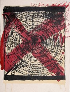 Antoni Tapies Abstract Lithograph #spain #tapies