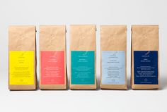 The Coffe Officina by Morse Studio #bag #coffee #packaging