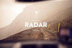 The Secret Radar #design #photography #radar #graphics #typography