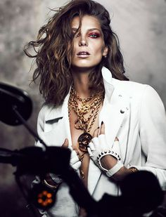 Daria Werbowy for Fashion Magazine #model #girl #photography #portrait #fashion
