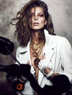 Daria Werbowy for Fashion Magazine #model #girl #photography #portrait #fashion