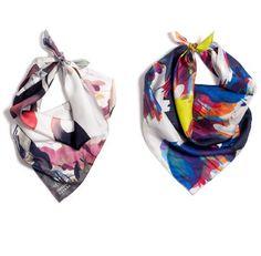 Petite Friture - Mandrake & Yoyo #mandrake #foulard #yoyo #color #headkerchief #scarf #colors #gas #qubo #cowboy
