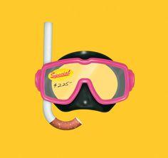 Barney Baker #barney #baker #cigarette #airbrush #goggles #mask