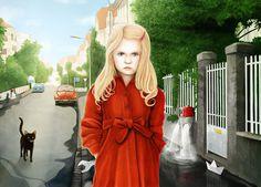 by finnegan_zwei #draw #illustration #girl