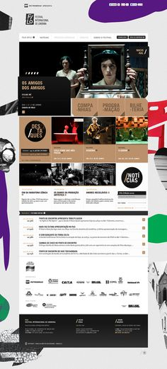 Filo Festival 2012 | Londrina on the Behance Network #web